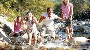 Wasserspaß mit der Familie Wildschönau
