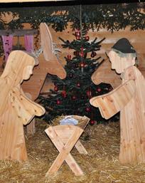 Weihnachtsidylle in der …