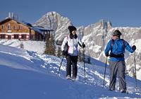 Schneeschuhwandern Hochwurzen