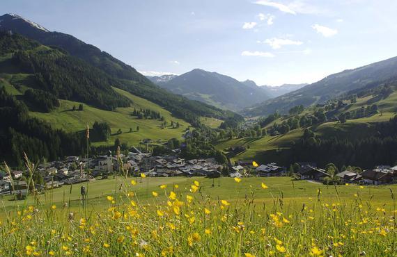 Das Tal der Spiele Saalbach Hinterglemm - Österreichs Wanderdörfer