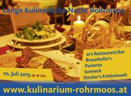 Lange Kulinarische Nacht 2015