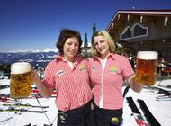Schlagerfestival auf den Skihütten