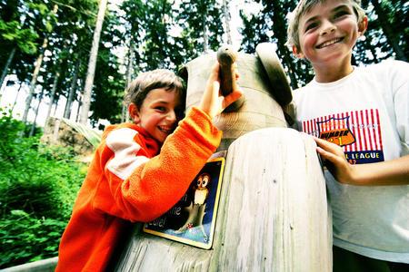 Kinder im Naturpark Buchenberg