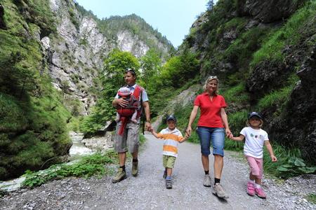 Familienwanderung Kundler Klamm
