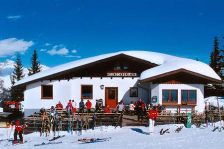 Lärchkogelhütte im Winter
