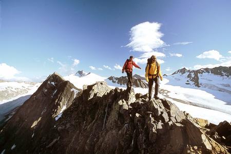 Gletscherflohmarsch