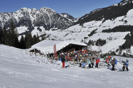 Bögalm Inneralpbach im Winter