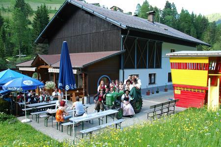 Jausenstation Tiefenbachklamm
