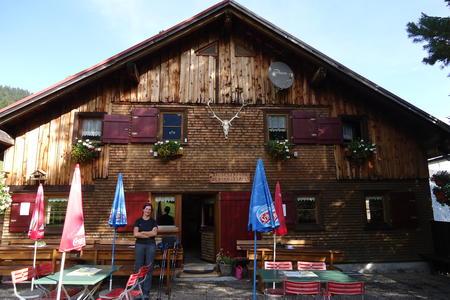 Bergkristall Hütte in Au