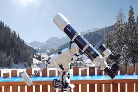 Teleskopische Sternen.Führung