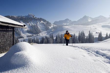 Schneeschuhwandern im Saalachtal
