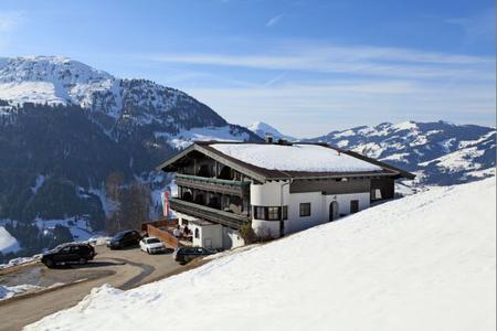 Bergschenke Krin im Winter