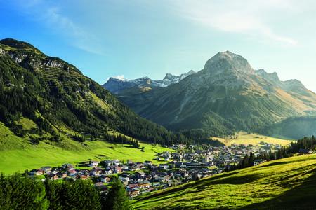 Lech am Arlberg mit Omeshorn