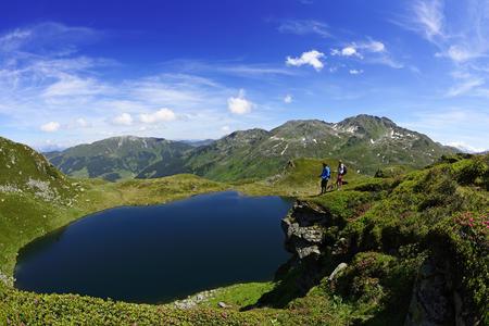 Wunderschöner Bergsee in der Kelchsau
