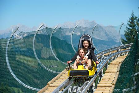 Volle Fahrt voraus! -Timoks Coaster auf Timoks Alm in Fieberbrunn