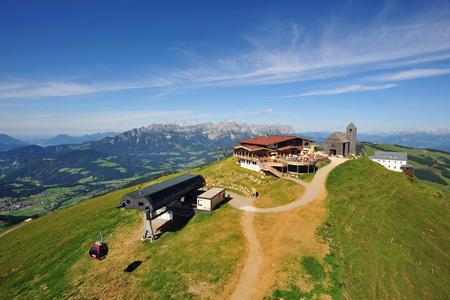 Atemberaubendes 360° Panorama auf der Hohen Salve