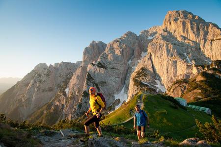 Wandern im Kaiserbachtal - im Antlitz des Wilden Kaisers