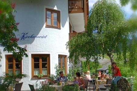 Hotel-Restaurant Kirchenwirt*** Russbach im Sommer