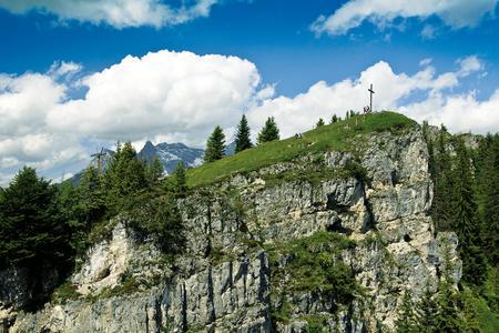 Gipfelkreuz Buchensteinwand