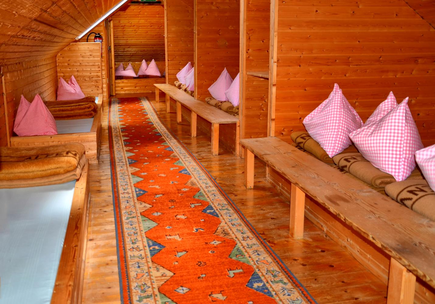 Matratzenlager hütte  Guttenberghaus - Das Wanderdörfer Hüttenportal