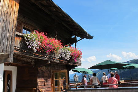 Loyastubn Wildschönau Tirol Wanderziel
