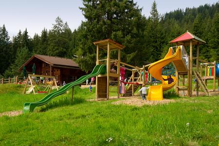 Bürgerbergalm mit eigenem Spielplatz