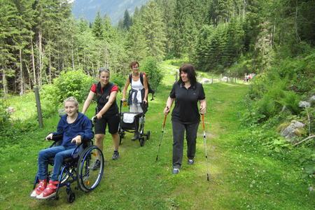 Urlaub in den Bergen mit Freizeit PSO