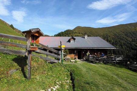 Draugsteinalm-Schrambachhütte