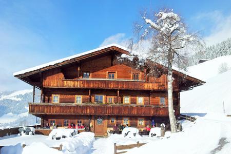 Jausenstation Wurmhof im winter
