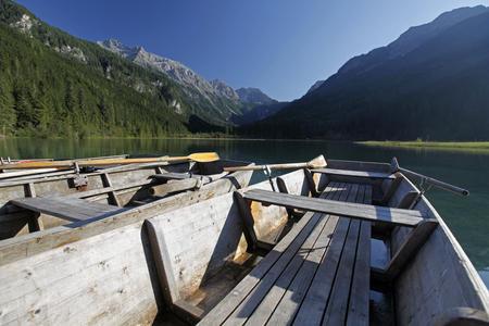 Ruderboote am Jägersee