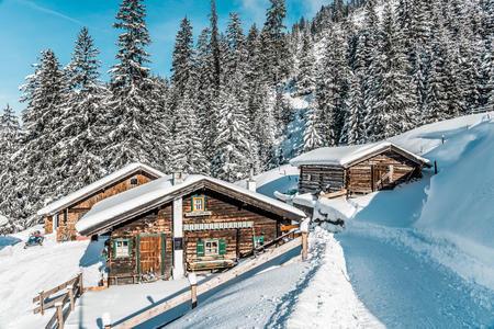 Brixenbachalm im Winter