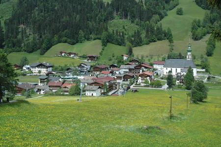 Oberau Dorf Wildschönau