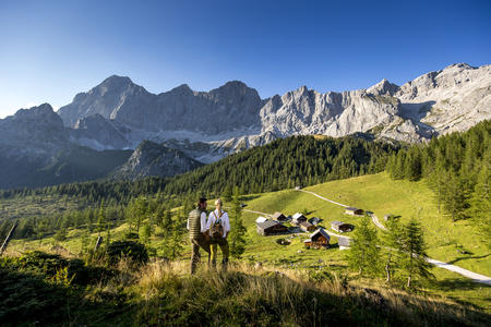 Wander in der Almregion - Ramsau am Dachstein