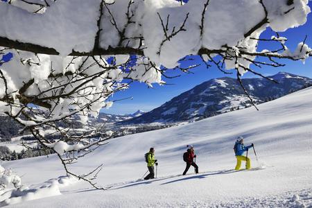 Schneeschuhwandern in Hopfgarten