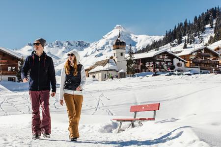 Winterwandern in Lech