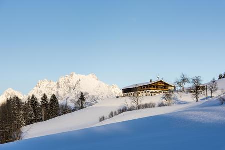 Morgenstimmung in St. Johann in Tirol