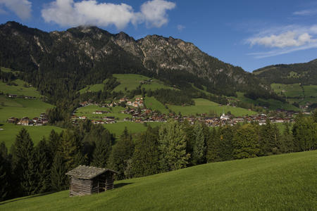 Alpbach Blick von Kolber
