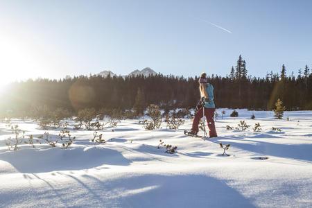 Schneeschuhnwandern