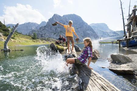 Aqua Trail Erlebnisweg für die ganze Familie am Nassfeld