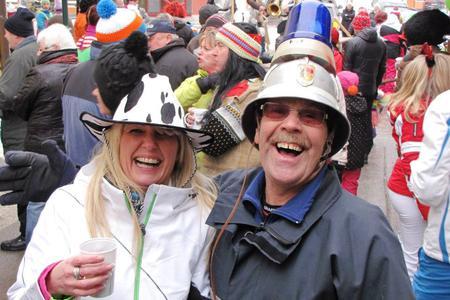 Fasching Straßenfest in Annaberg