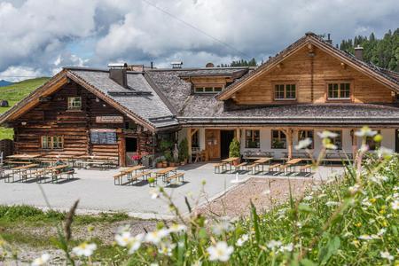 Die Rottenhofhütte in Annaberg/Wandergebiet Zwieselalm