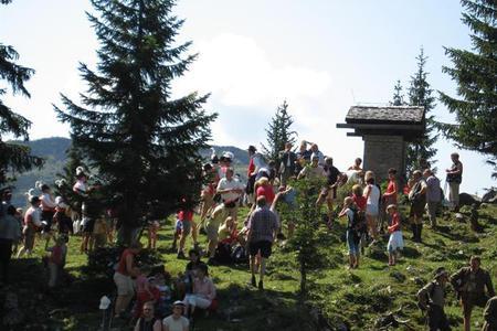 Bergmesse auf der Stuhlalm