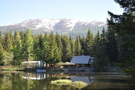 Fischerhütte am Schattensee