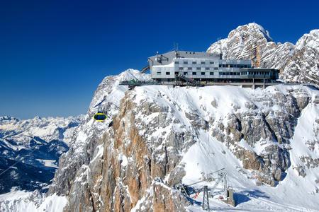 Dachstein Gletscher Bergstadion mit Sky Walk