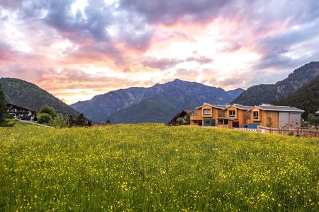 Außenansicht Alpegg Chalets