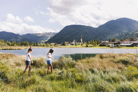 Kinder am Pillersee