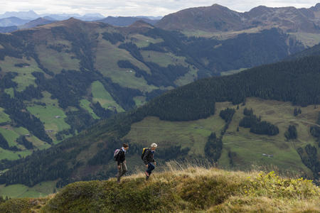Wandern am Wiedersbergerhorn