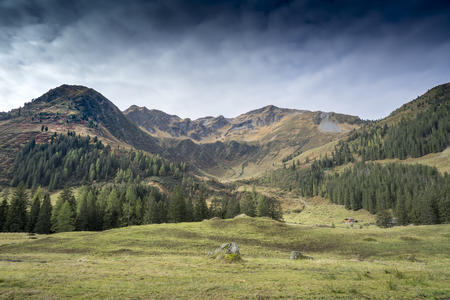 Herbstlandschaft im Alpbachtal