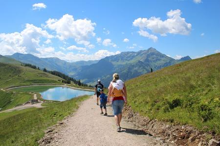 Schatzberg Wildschönau Bergsee