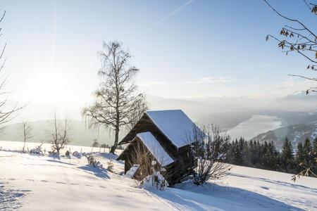 Winterpanorama Millstätter See
